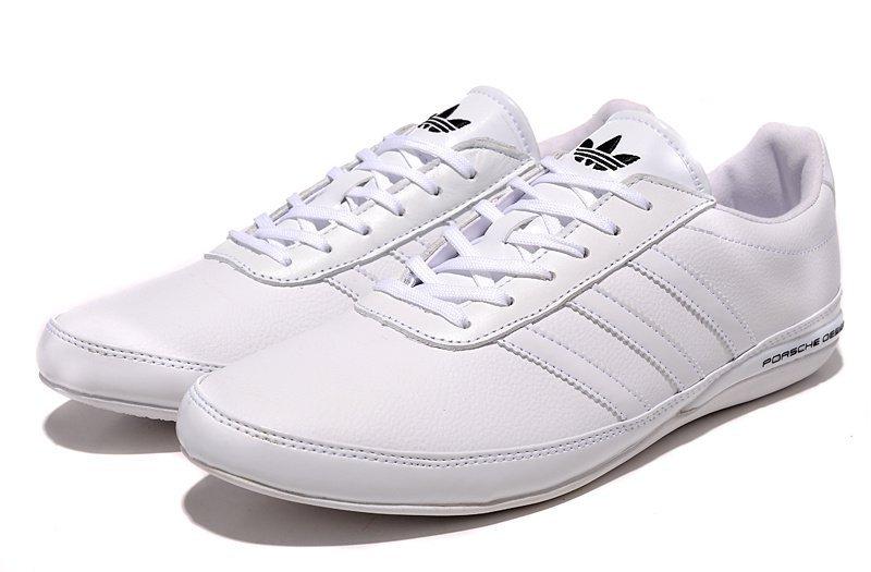 cc590223 Купить мужские кроссовки Adidas Porsche Design S3 All White (артикул ...