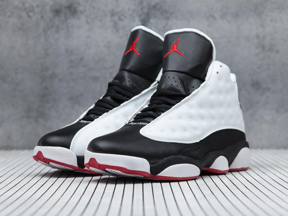7cde69f7 мужские кроссовки Nike Air Jordan 13 «He Got Game» White / Black / True