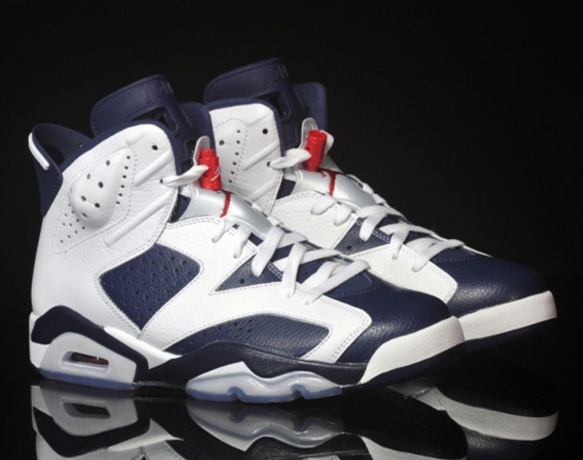 Купить мужские кроссовки Nike Air Jordan 6 Retro «Olympic 2012 ... 2d1d1a662a1