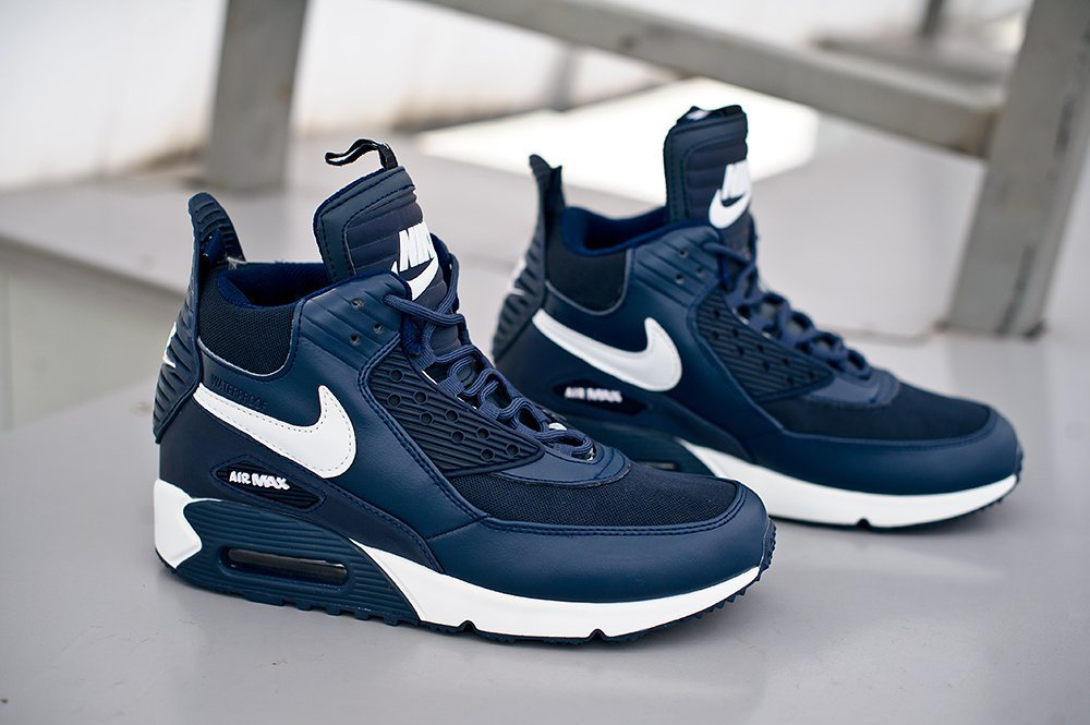 cb93d5ea Купить мужские кроссовки Nike Air Max 90 Sneakerboot Winter Blue ...