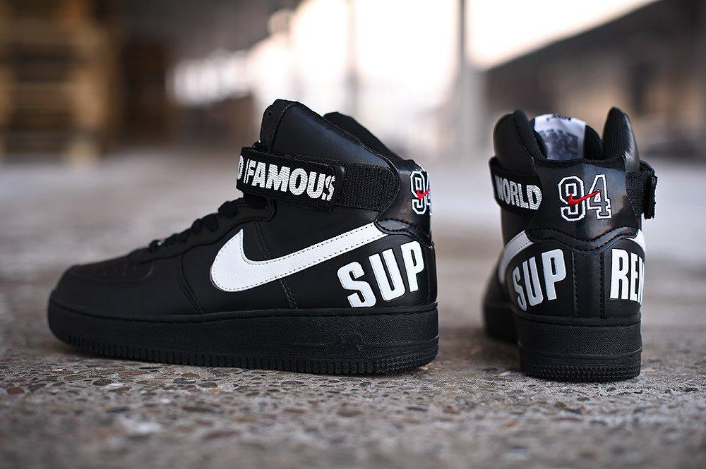 fc376828 Купить мужские кроссовки Nike Supreme x Air Force 1 (артикул 4869) в ...
