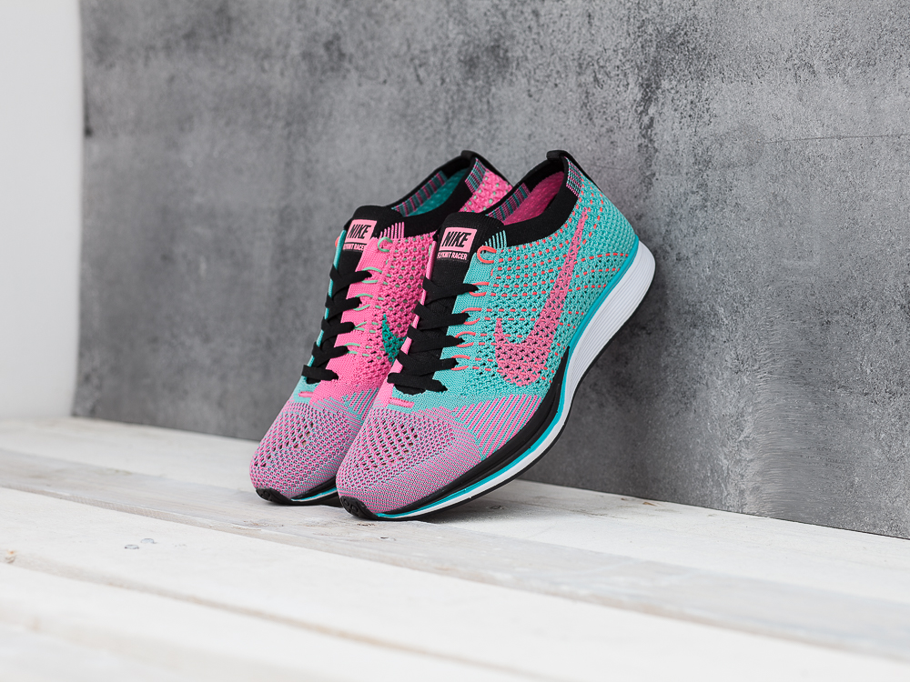 a5c2af568fabe Купить женские кроссовки Nike Flyknit Racer WMNS Hyper Jade   Hyper ...