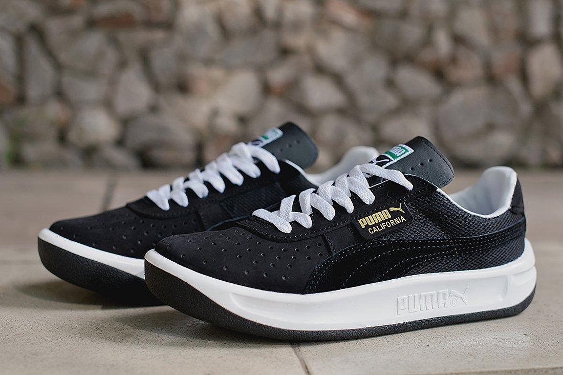 Купить мужские кроссовки Puma California Black   Black   White в ... 20dc68c9fa2