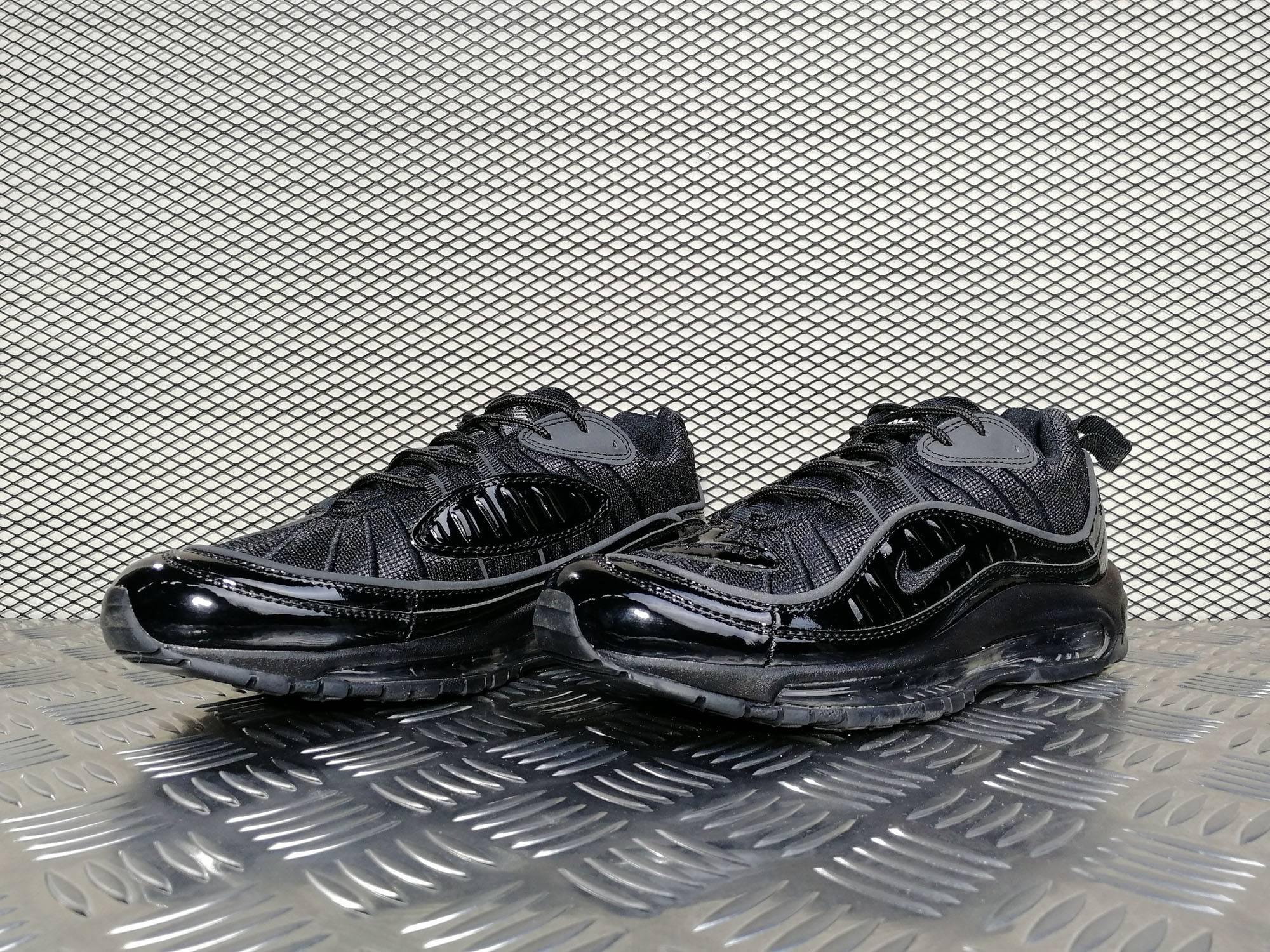 "862b93b7 Купить мужские кроссовки Nike Air Max 98 x Supreme ""Triple Black"" в ..."