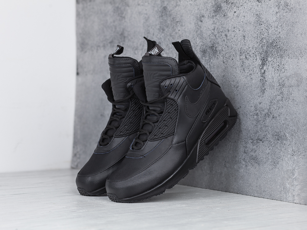 best website c6b60 d33e1 promo code nike air max 90 sneakerboot triple svart 94102 071f3