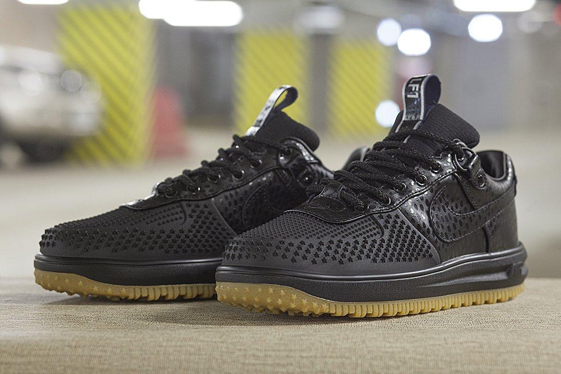 ae8efcd0 Купить мужские кроссовки Nike Lunar Force 1 Duckboot Low Black ...
