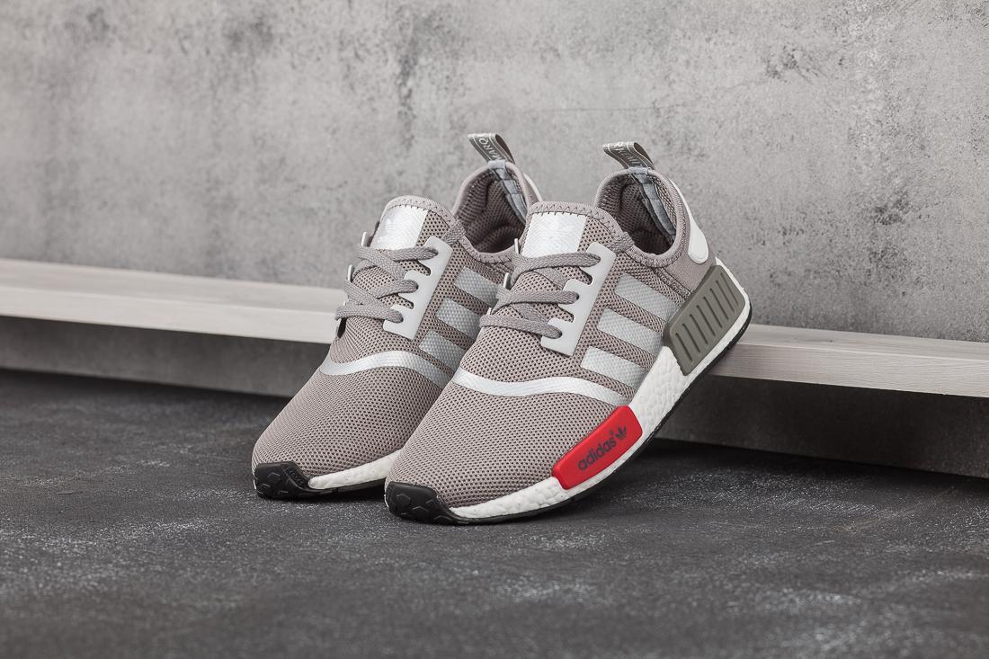 44e73d7c мужские кроссовки Adidas NMD Runner R1 Light Onix Red (артикул 7394)