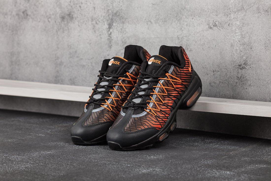 b8d6bb73 Купить мужские кроссовки Nike Air Max 95 Ultra JCRD Orange / Black ...