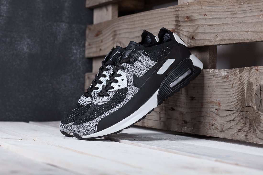 e6408495 Купить мужские кроссовки Nike Air Max 90 Ultra 2.0 Flyknit Black ...