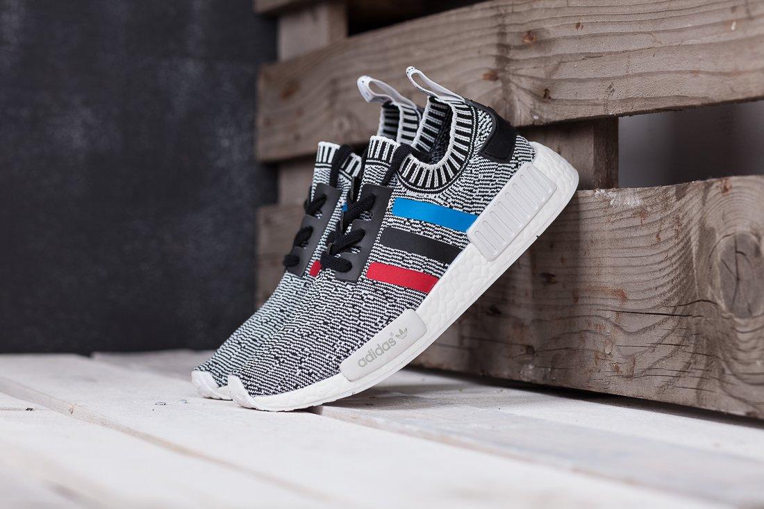 da13c900 Купить мужские кроссовки Adidas NMD R1 PK Tri-Colour Grey в интернет  магазине | RESTOKK