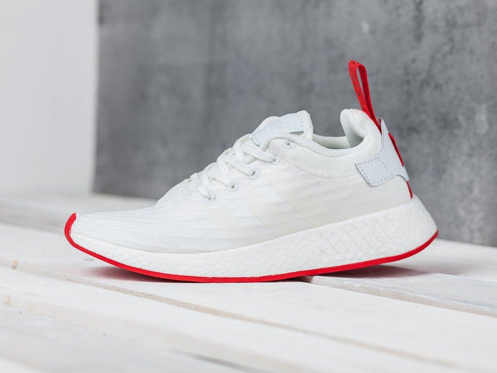 f7e9e027eebd Купить мужские кроссовки Adidas NMD R2 PK White   Redwhite   Corered ...
