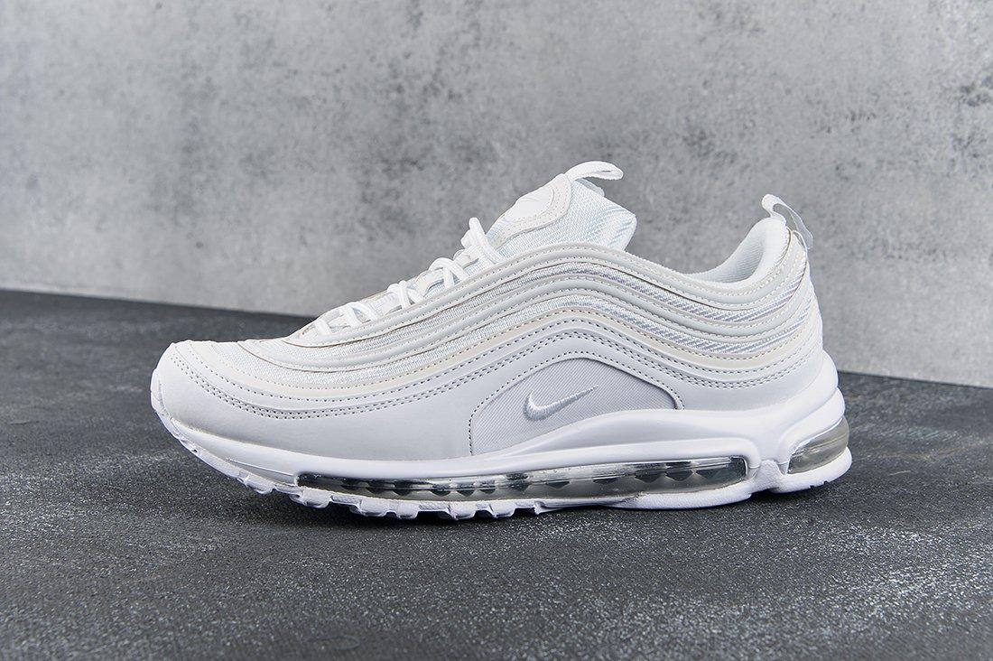 купить мужские кроссовки Nike Air Max 97 Triple White в интернет