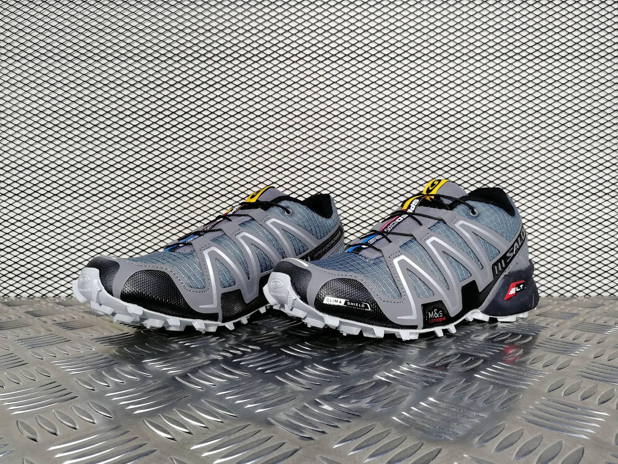 Купить мужские кроссовки Salomon Speedcross 3 CS Grey   White в ... de9367192b135