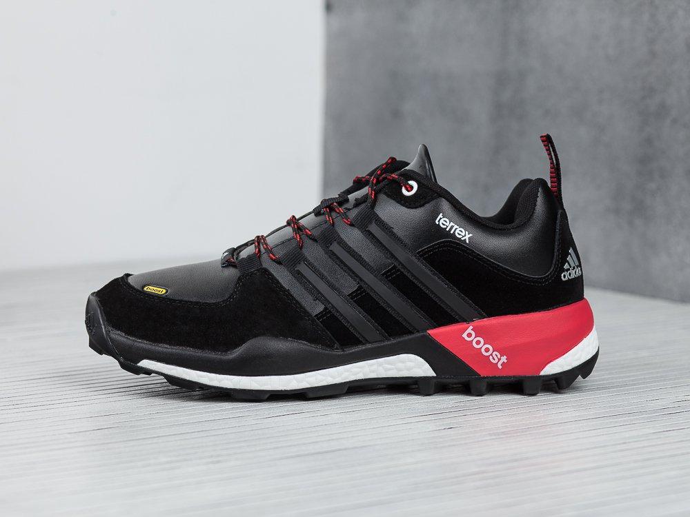 6526571995da Купить мужские кроссовки Adidas Terrex Boost Core Black   White ...