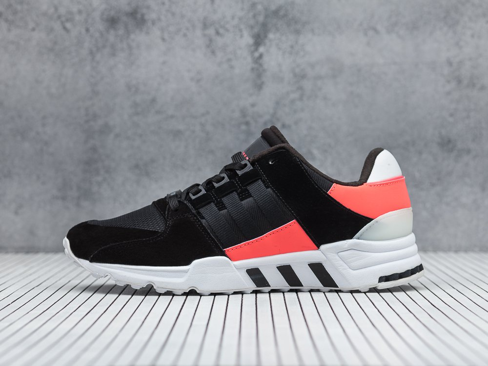huge selection of e0c5e f1b80 мужские кроссовки Adidas EQT Support RF Black / Core Black / Turbo Red  (артикул 8273