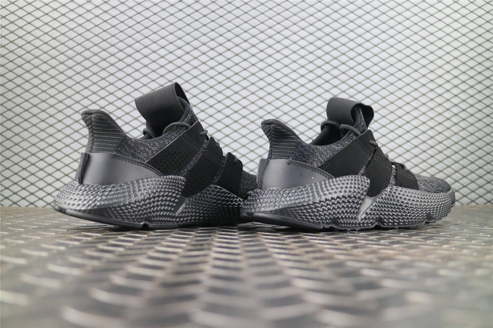 ff7a28833cd0 Купить мужские кроссовки Adidas Prophere Total Black в интернет ...