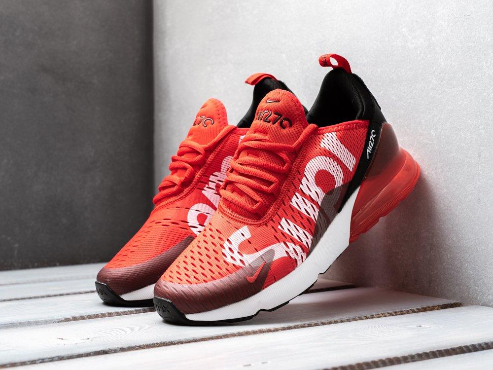 1039862b мужские кроссовки Nike Air Max 270 X Supreme Red / Black / White (артикул  8753
