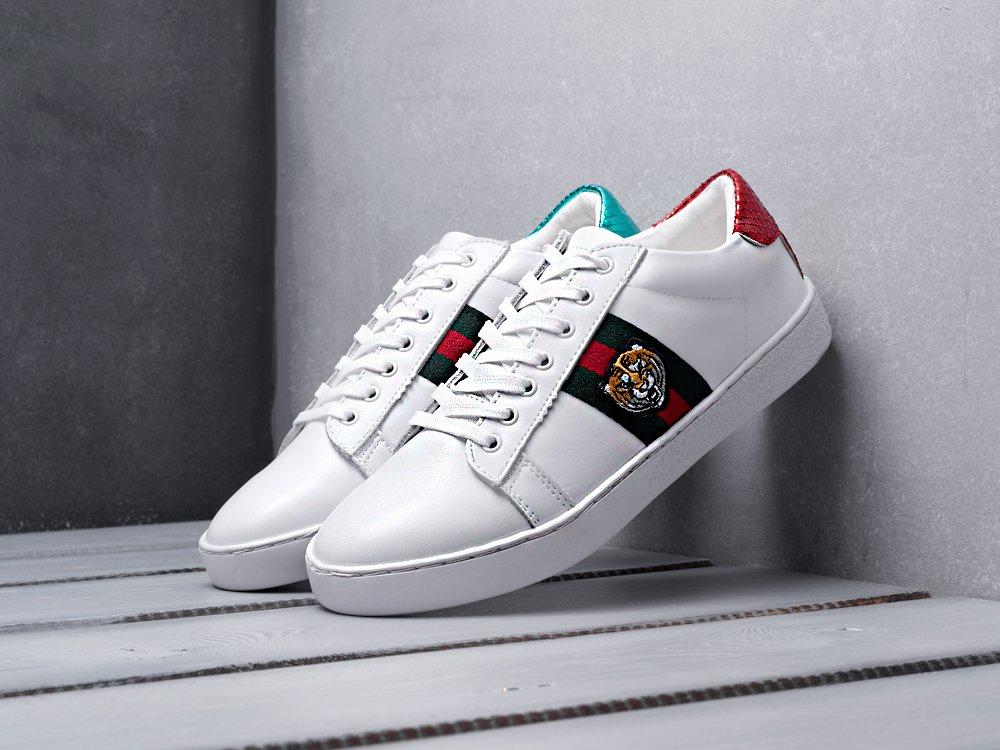 Купить мужские кроссовки Gucci Ace Embroidered Low-top White Tiger в ... 2a8eef43dc8