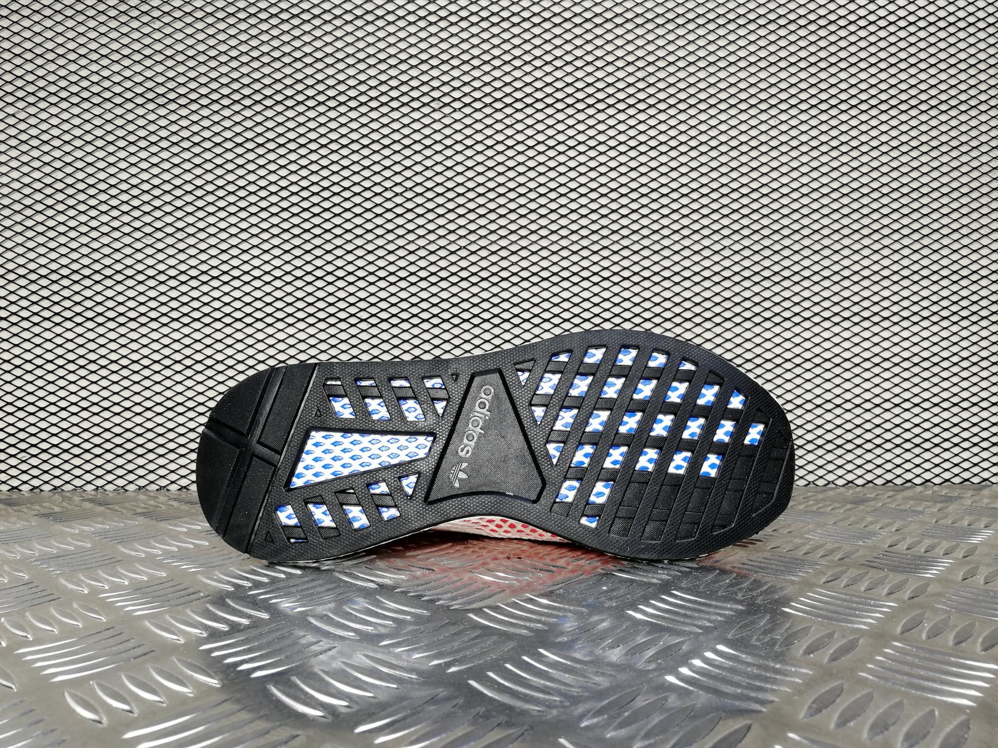 e51869d9e9b5 Купить мужские кроссовки Adidas Deerupt Runner Solar Red   Bluebird ...