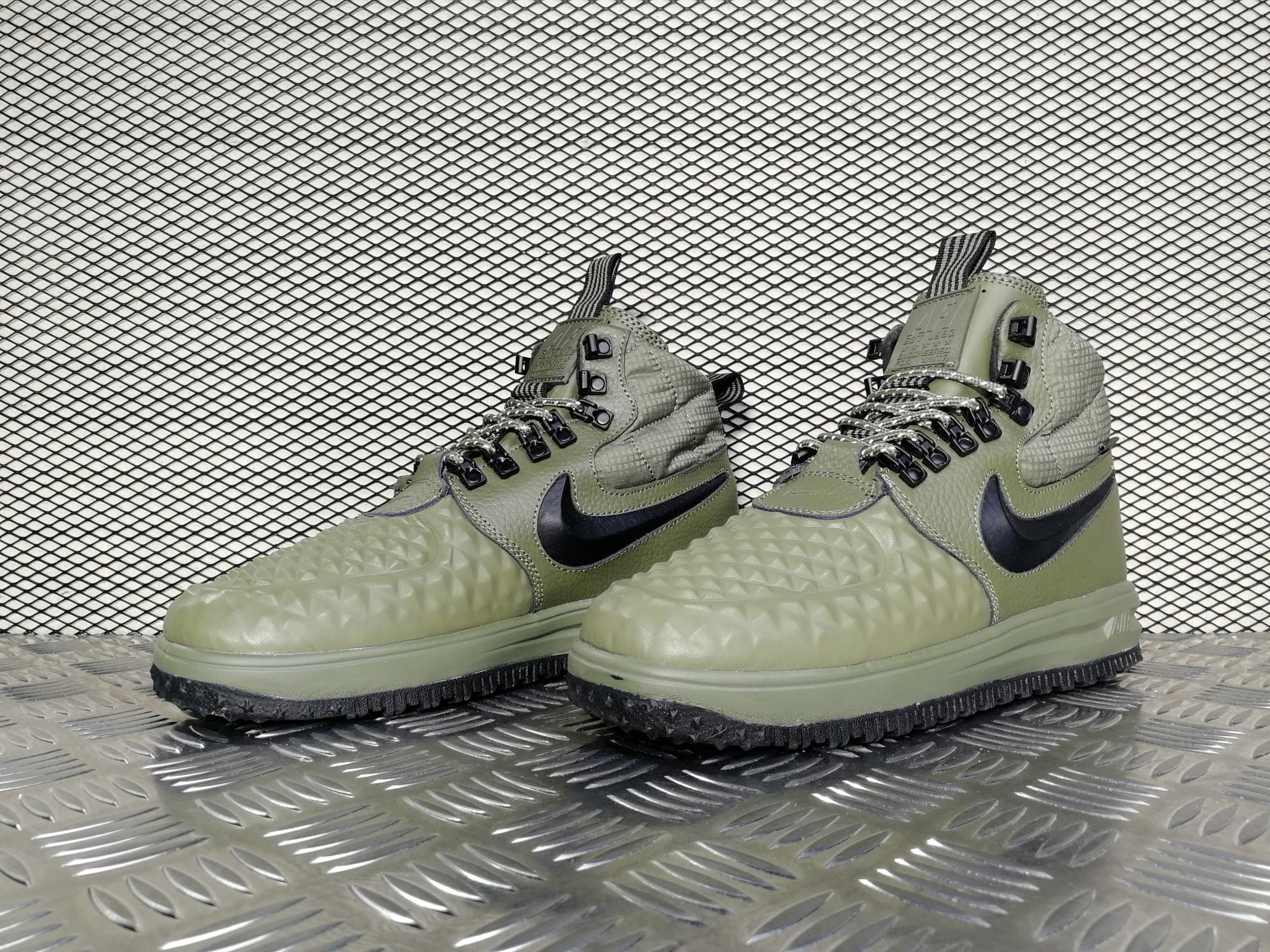 5b1d1ed98be7 Кроссовки мужские Nike Lunar Force 1 Duckboot 17 Medium Olive  Black-Wolf  Grey